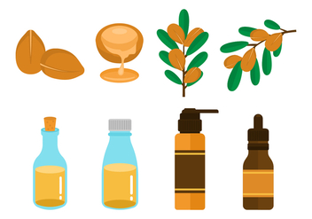 Free Argan Oil Vector - Free vector #406237