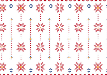 Pattern Of Indonesian Songket Illustration - Free vector #406517