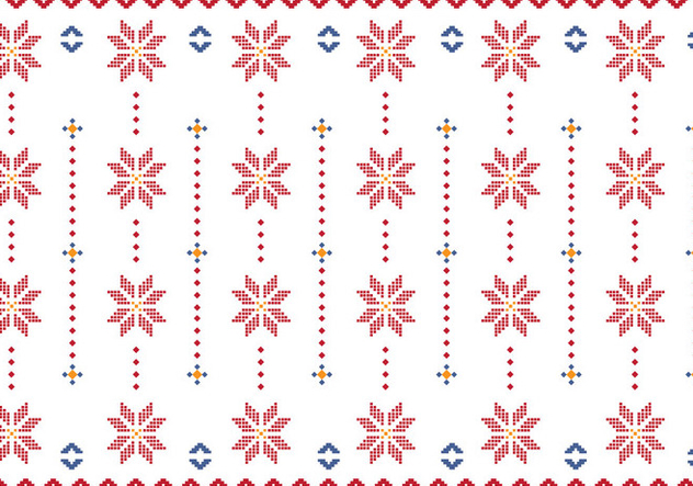 Pattern Of Indonesian Songket Illustration - vector #406517 gratis