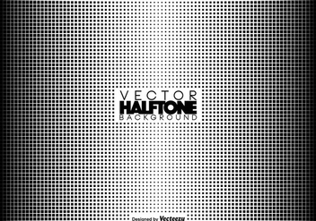 Vector Halftone Background - vector #406637 gratis
