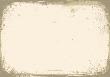 Vector Grunge Frame Background - vector gratuit #406677