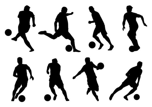 Futsal Player Vectors - Free vector #406757