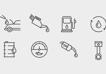 Oil Change Icon - Free vector #406837