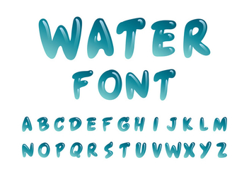 font that looks like water - Ronni kaptanband co