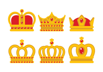 British Crown Vector - vector #407097 gratis