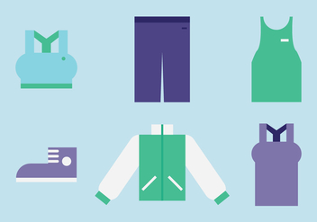 Sport Clothes - vector #407267 gratis