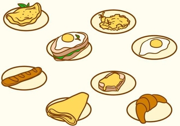 Free Breakfast Vector - бесплатный vector #407437
