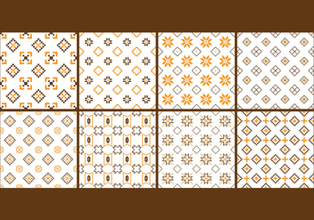 Free Songket and Batik Seamless Pattern - vector gratuit #407567