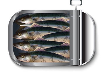 Mackerel Vector - vector #407727 gratis