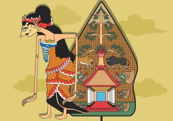 Free Wayang Illustration - Free vector #408077