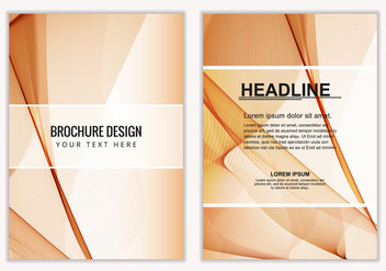 Free Vector Business Brochure - Kostenloses vector #408637