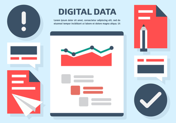 Free Digital Data Vector Illustration - vector #409037 gratis