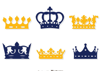 British Crown Collection Vector Set - Free vector #409157
