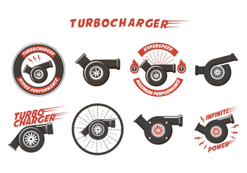 Free Turbocharger Vector - бесплатный vector #409167