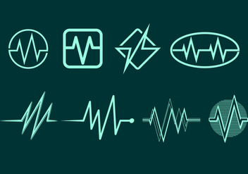 Flatline Icon Free Vector - Free vector #409247