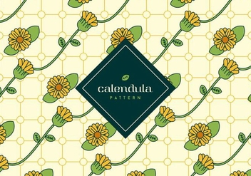 Calendula Background - vector #409257 gratis