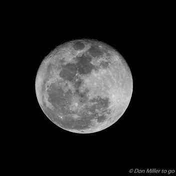 Super Moon at 99% - image gratuit #409387