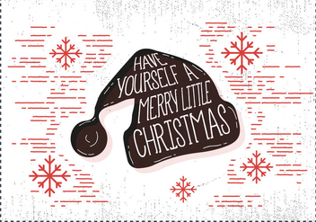 Free Christmas Hat Vector - Free vector #409427