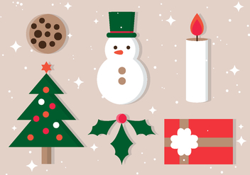 Free Christmas Vector Icons - Kostenloses vector #409487