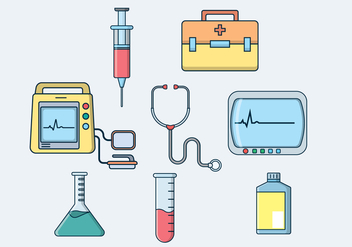 Free Medical Equipment Vector - бесплатный vector #409527
