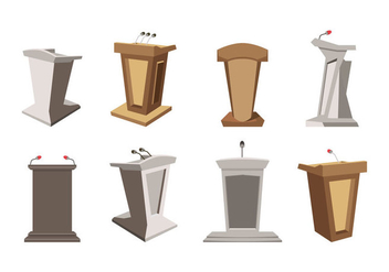Free Lectern Vector - Free vector #409627