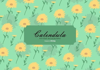 Calendula Background - vector #409777 gratis