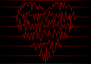 Heart Rate Free Vector - бесплатный vector #409827