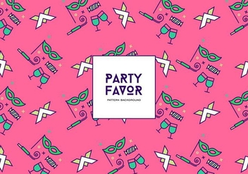 Party Favor Background - Kostenloses vector #409867