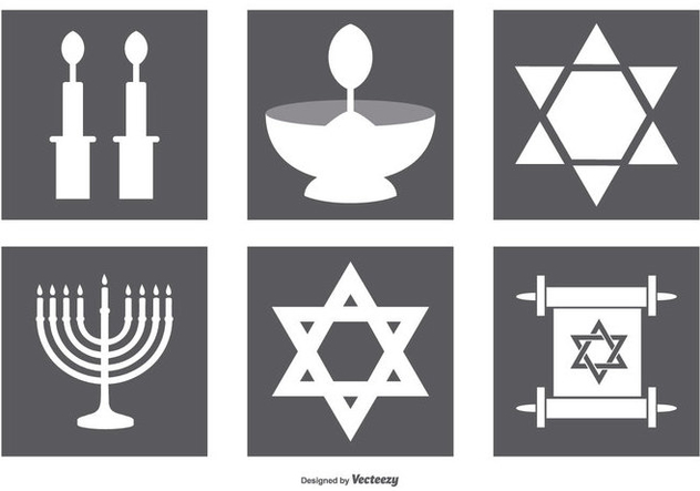 Jewish Icon Collection - Kostenloses vector #409907