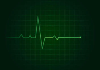 Flatline Background Free Vector - Free vector #409957