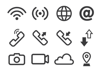 Connection Icon - Free vector #410157