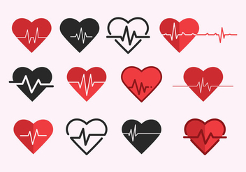 Free Heart Rate Vector - vector gratuit #410387