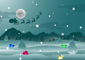 Christmas Backround Free Vector - Free vector #410507