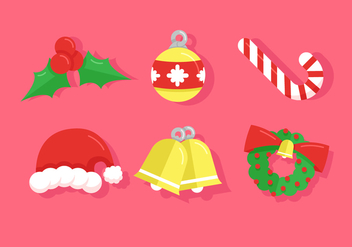 Chrismas Icon Vector Pack - Free vector #410647