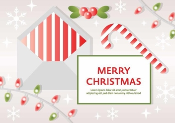 Free Vector Christmas Background - vector #410827 gratis