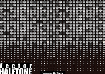 Halftone Vector Backgrounds - Kostenloses vector #411207
