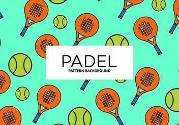 Padel Background - Kostenloses vector #411447