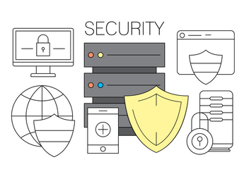 Free Online Security Icons - vector #411517 gratis