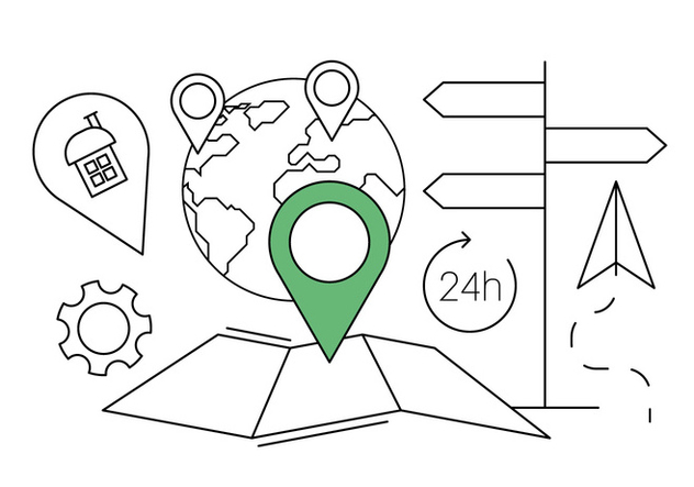 Free Navigation Icons - Free vector #411537