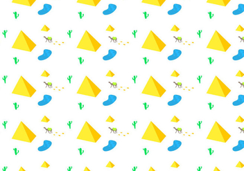 Free Piramide Seamless Pattern Vector Illustration - Free vector #411577