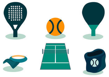 Padel Vector Set - бесплатный vector #411657