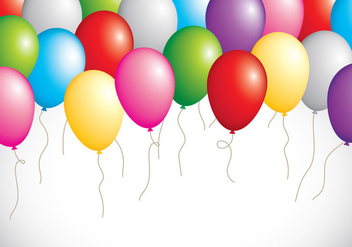 Balloon Party - vector #411757 gratis