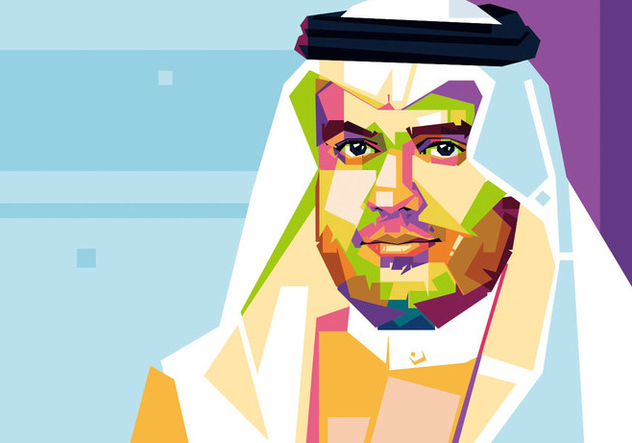 Prince - Arab Style - WPAP - Free vector #411817