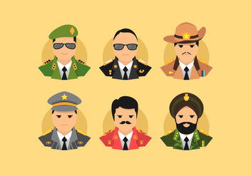 Brigadier Vector Illustration - Kostenloses vector #411987
