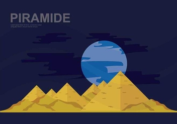 Free Piramide Illustration - Kostenloses vector #412007