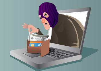 Consumer Theft - Free vector #412137