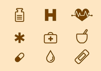 Free Medical Icon Vector - vector gratuit #412227