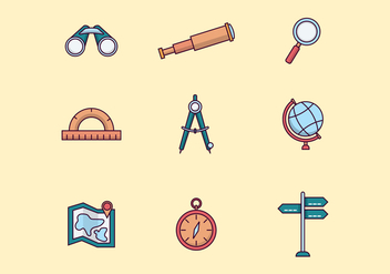 Free Navigation Icons - vector #412257 gratis