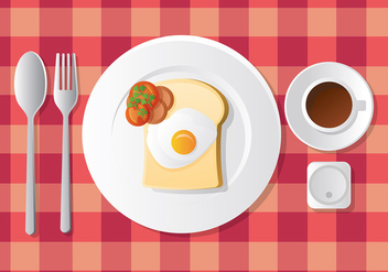 Breakfast Free Vector - бесплатный vector #412337