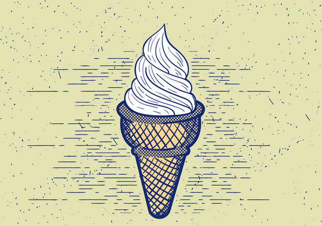 Free Vector Detailed Icecream Illustration - Kostenloses vector #412547
